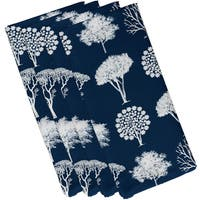 19 x 19-inch, Field of Trees, Floral Print Napkin (Set of 4)