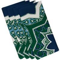 19 x 19-inch, Rising Star, Geometric Print Napkin (Set of 4)