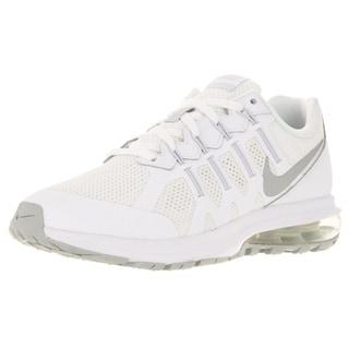 Nike Kid's Air Max Dynasty (Gs) White/Metallic Silver/ Running Shoe