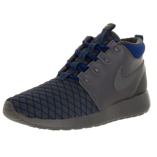 Nike Kid's Rone One Mid Winter (Gs) Drk Grey/Dark Greyy/Royal Blue/Anth Running Shoe