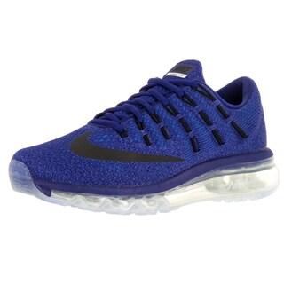 Nike Kid's Air Max 2016 (Gs) Deep Royal/Black/ Running Shoe