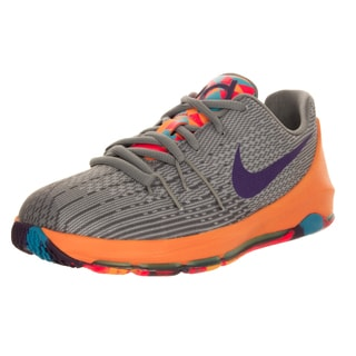 Nike Kid's Kd 8 (Ps) Wlf urple/Grey/ Basketball Shoe
