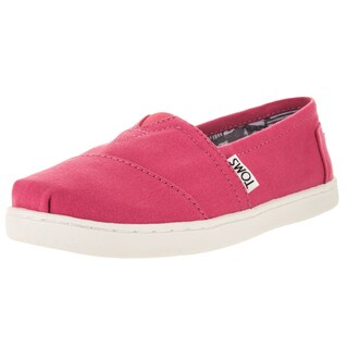 Toms Kids Classic Barberry Pink Casual Shoes (Option: 5.5)