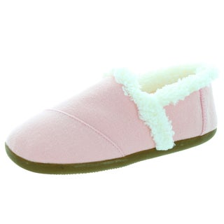 Toms Kids' Pink Wool Slip-on Shoes