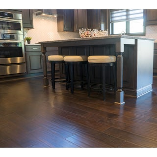 Everyday Flooring Dark Cacao Birch Engineered Hardwood Flooring Planks