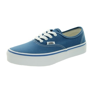 Vans Kid's Authentic Navy/True White Skate Shoe