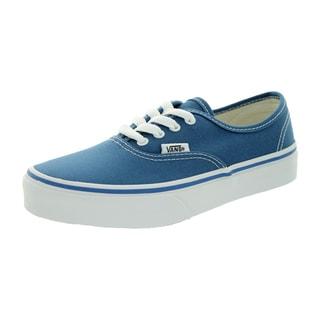 Vans Kid's Authentic Navy/True White Skate Shoe