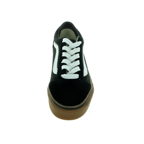 Shop Vans Kid's Old Skool (Gumsole) BlackMedium Gum Skate