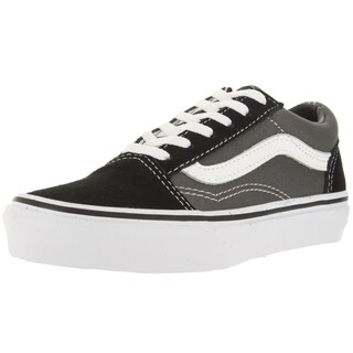 Vans Kid's Old Skool Black/Pewter Skate Shoe