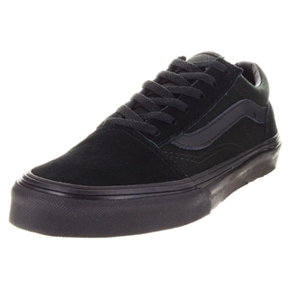 Vans Kid's Old Skool Black/Black Skate Shoe