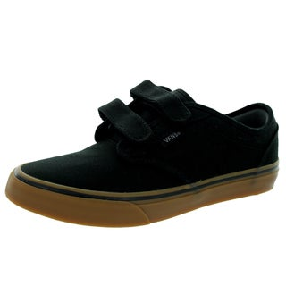 Vans Kid's Atwood V (Canvas) Black/Gum Skate Shoe