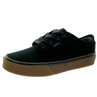 Vans Kid's Atwood ( 10 Oz Canvas) Black/Gum Skate Shoe