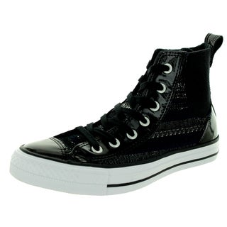 Converse Women's Chuck Taylor Chelsee Hi Black/Grey/White Casual Shoe