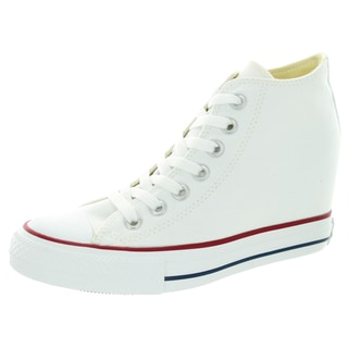 Converse Women's Chuck Taylor Lux Mid White Basketball Shoe