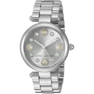 Marc Jacobs Women's MJ3475 'Dotty' Crystal Stainless Steel Watch