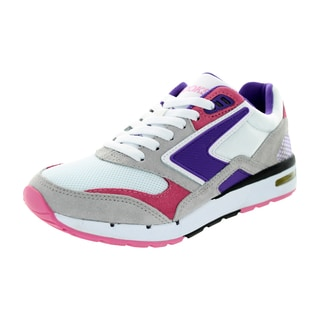 Brooks Women's Fusion Electric Purple/Caation Pink/White Running Shoe
