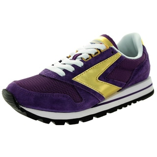 Brooks Women's Chariot Deeppurple/Gold Running Shoe