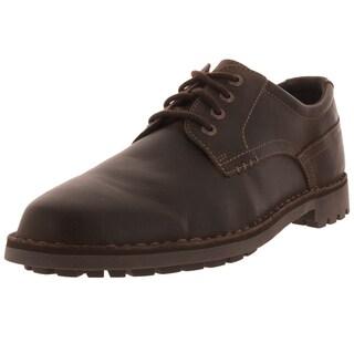 Sebago Men's Metcalf Plaintoe Dark Brown Casual Shoe