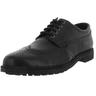 Sebago Men's Metcalf Wing Tip Black Casual Shoe