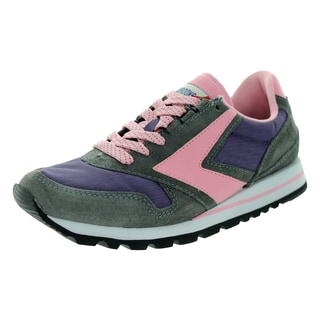 Brooks Women's Chariot Grey/Blackberry/Peony Ascensci Running Shoe