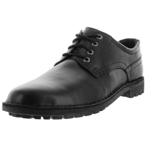 Sebago Men's Metcalf Plaintoe W Black Leather Casual Shoe