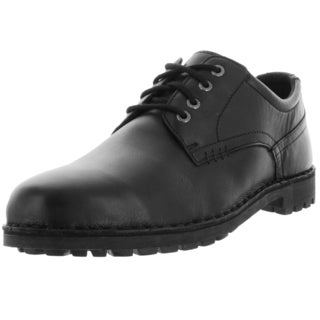 Sebago Men's Metcalf Plaintoe Black Leather Casual Shoe