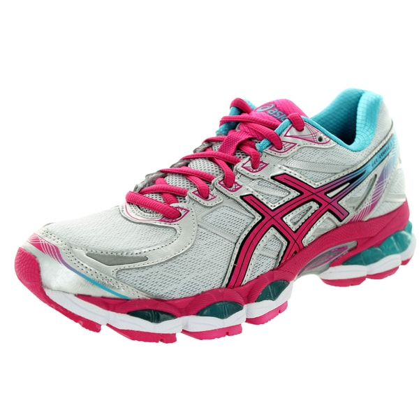 ... Women's Athletic Shoes. Asics Women's Gel-Evate 3 Lightning/Hot  Pink/Blue