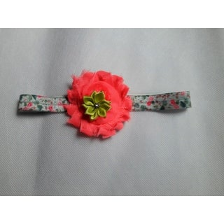 Infant Toddler Girl's Shabby Chic Floral Headband