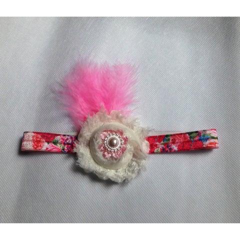 Floral Print Stretch Headband
