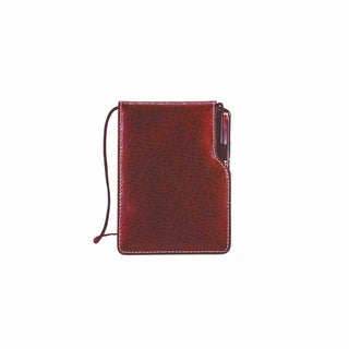 Goodhope Leather Jotter (Option: Red)
