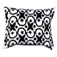 16-inches x 20-inches Embroidered Throw Pillow