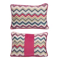 Jacquard Woven 14-inches Wide x 20-inches HighThrow Pillow