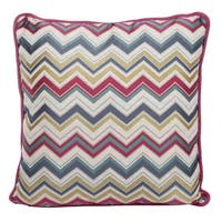 Jacquard Woven 20-inch Throw Pillow