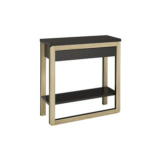 Brassex Modern Console Table with Drawer