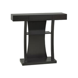 Brassex Contemporary Console Table with Drawer