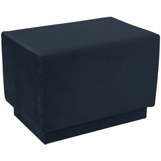 angelo:HOME Square Ottoman in Mystere Eclipse