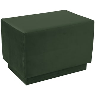 angelo:HOME Square Ottoman in Mystere Jade