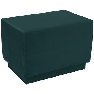 angelo:HOME Square Ottoman in Mystere Peacock