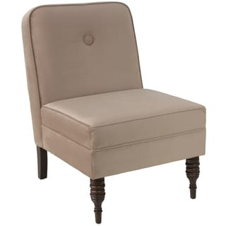 angelo:HOME Accent Chair With Button in Mystere Mondo