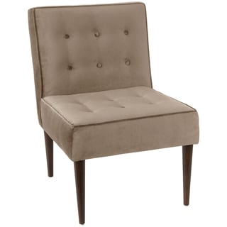 angelo:HOME Button Tufted Modern Chair in Mystere Mondo