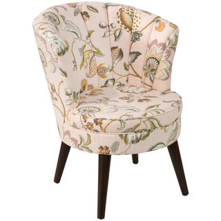 angelo:HOME Channel Seam Tub Chair in Sweet Nothings Rose