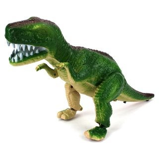 Velocity Toys Fantasy Dinosaur T-Rex Battery-operated Toy Dinosaur Figure with Realistic Movement