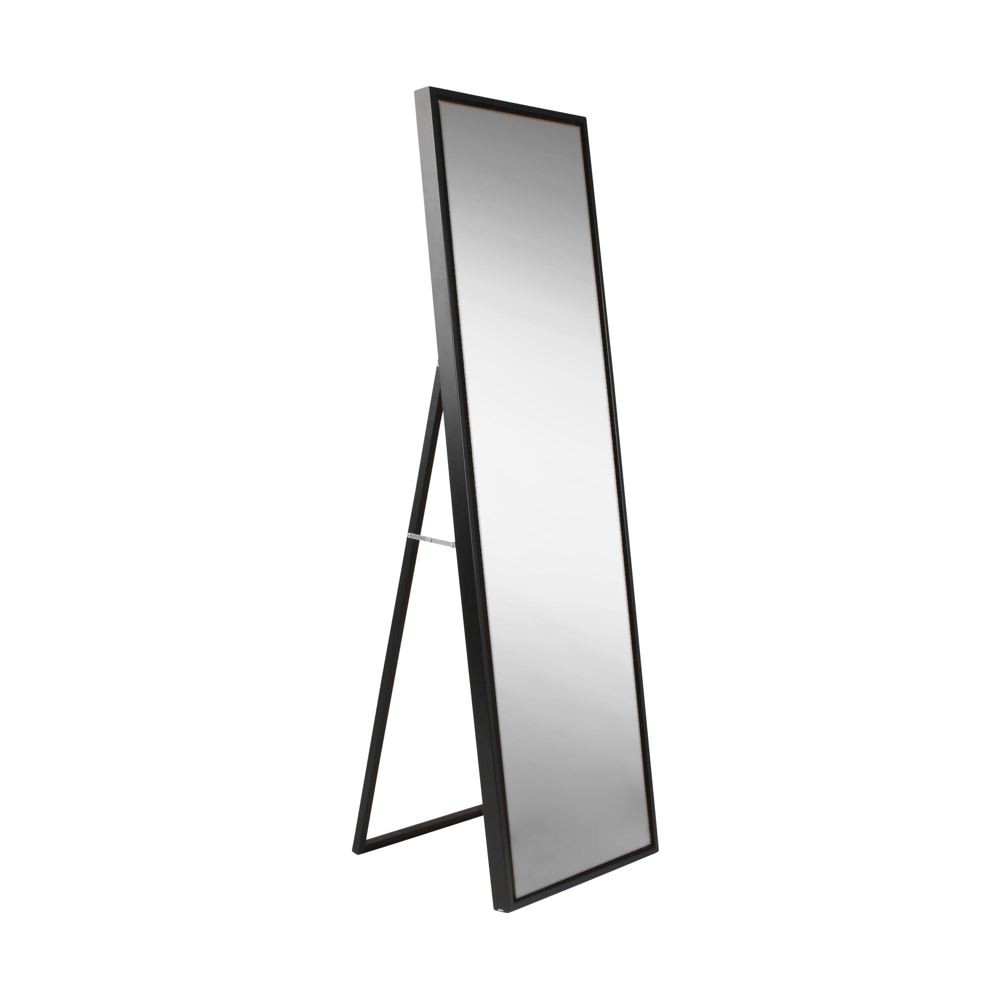 Carbon Loft Beckman Wood Framed Free Standing Mirror