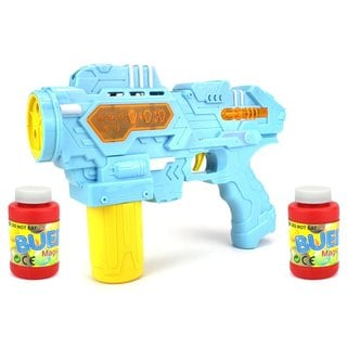 Velocity Toys Space Bubble Rifle Battery-operated Toy Bubble-blowing Gun