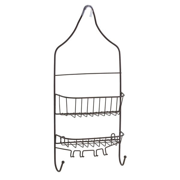 Bath Bliss Shower Caddy With Suction Cups