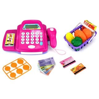 Velocity Toys Fun Store Battery Operated Toy Cash Register