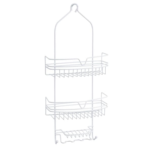 Bath Bliss Round Wire Shower Caddy