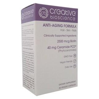 Creative Bioscience Anti-aging Formula (30 Veggie Capsules)