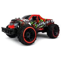 Velocity Toys Muscle Slayer Pickup 2.4 GHz PRO System BIG 1:12 Scale Size Remote Control Truck (Colors May Vary)