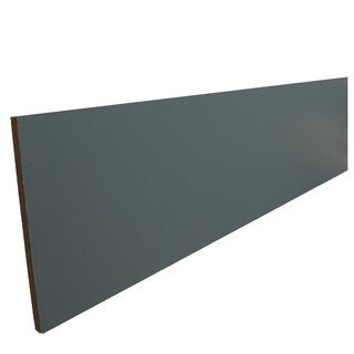 Everyday Cabinets 96-inch Gray Shaker Cabinet Toe Kick